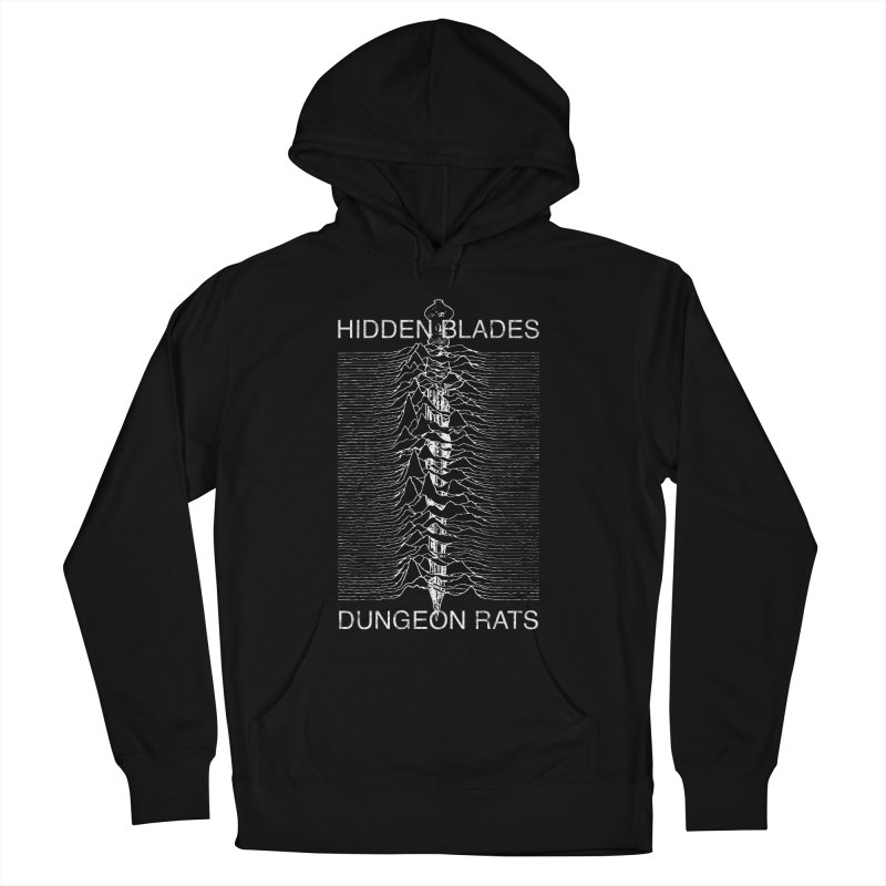 Hidden Blades Men's French Terry Pullover Hoody by The Dungeon Rat's Shop
