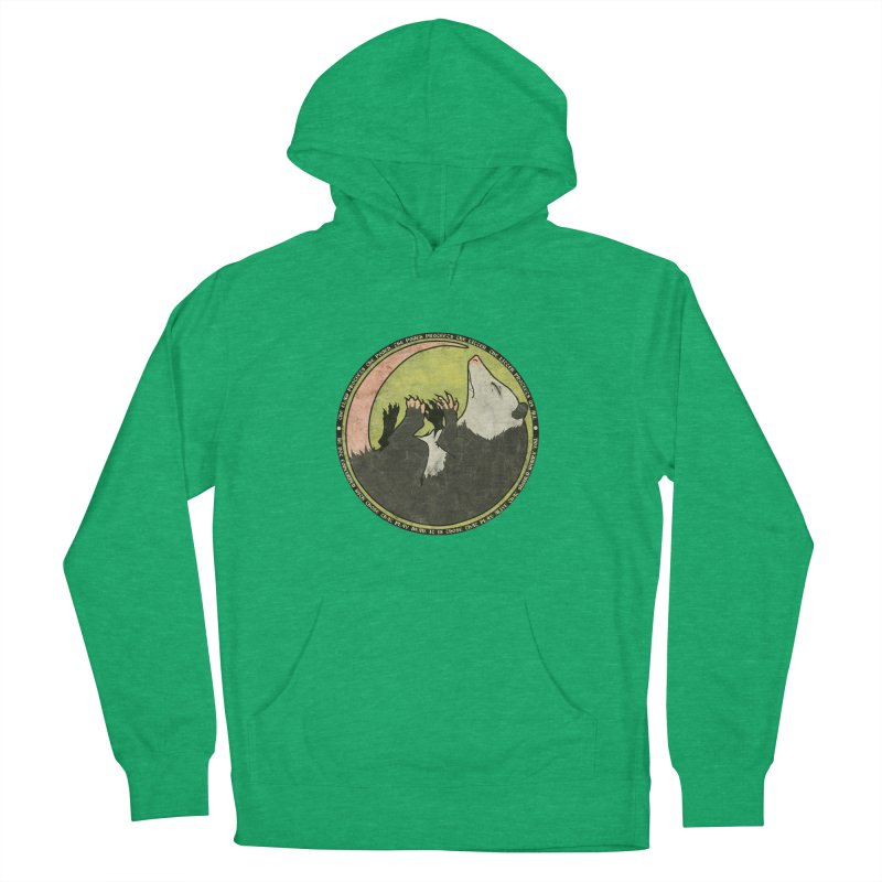 The Holy Possum Symbol Women's French Terry Pullover Hoody by The Dungeon Rat's Shop