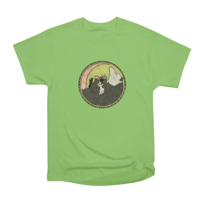 The Holy Possum Symbol Women's Heavyweight Unisex T-Shirt by The Dungeon Rat's Shop