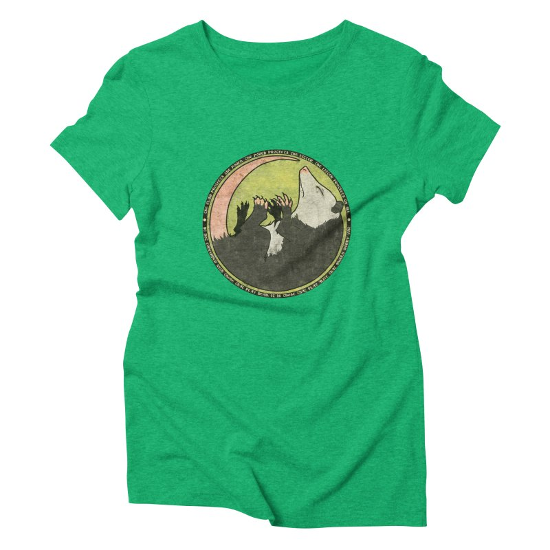 The Holy Possum Symbol Women's Triblend T-Shirt by The Dungeon Rat's Shop