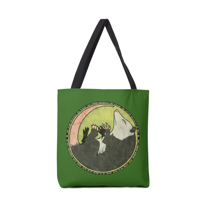 The Holy Possum Symbol Accessories Bag by The Dungeon Rat's Shop