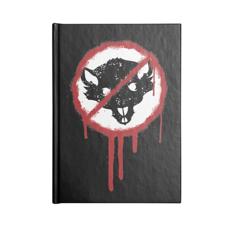 Court of Crown Graffiti Accessories Blank Journal Notebook by The Dungeon Rat's Shop