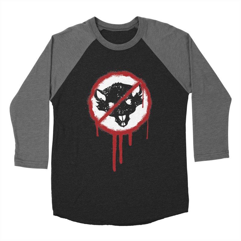Court of Crown Graffiti Women's Baseball Triblend Longsleeve T-Shirt by The Dungeon Rat's Shop