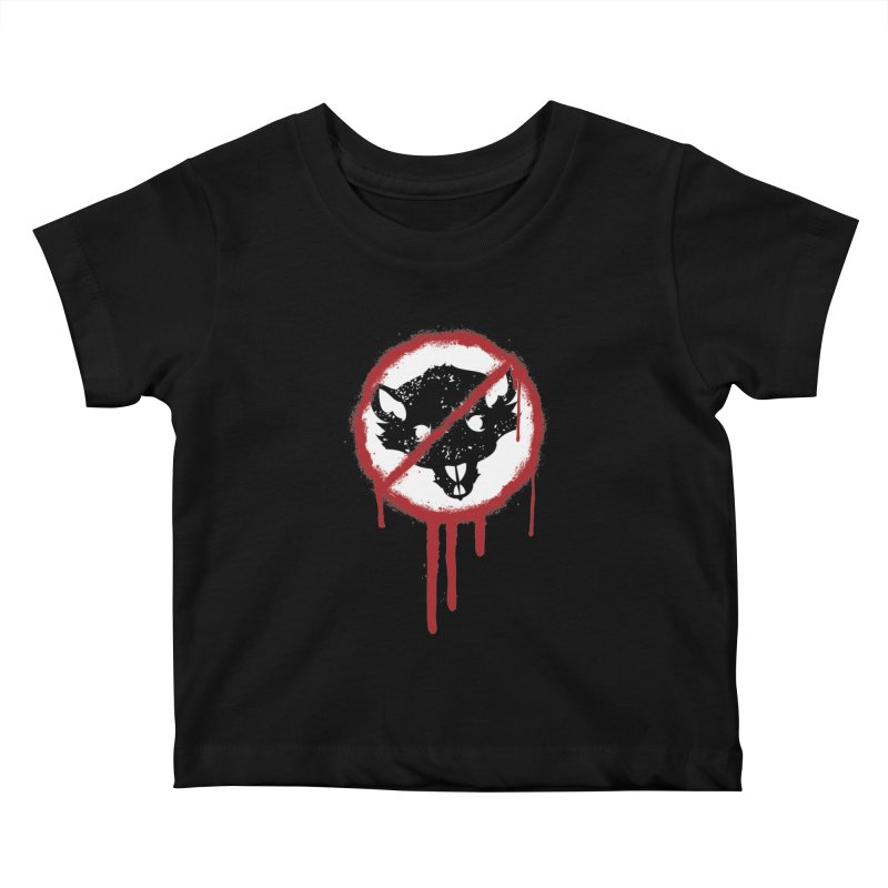 Court of Crown Graffiti Kids Baby T-Shirt by The Dungeon Rat's Shop