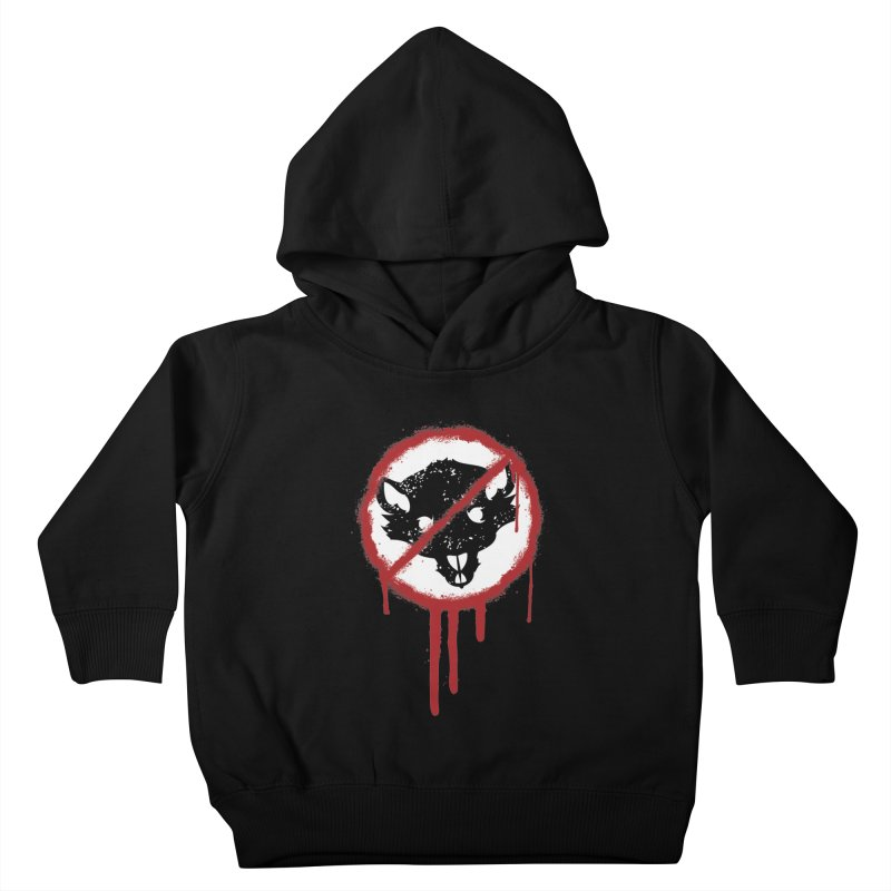 Court of Crown Graffiti Kids Toddler Pullover Hoody by The Dungeon Rat's Shop