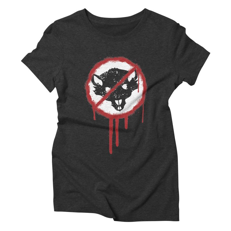 Court of Crown Graffiti Women's Triblend T-Shirt by The Dungeon Rat's Shop