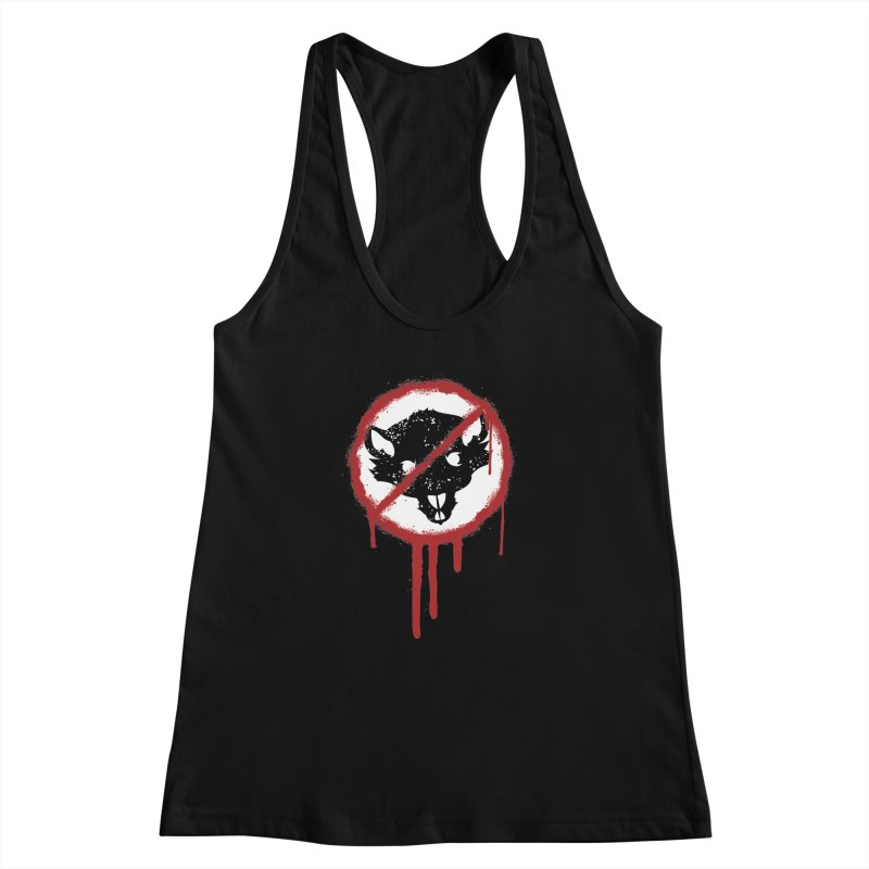 Court of Crown Graffiti Women's Racerback Tank by The Dungeon Rat's Shop