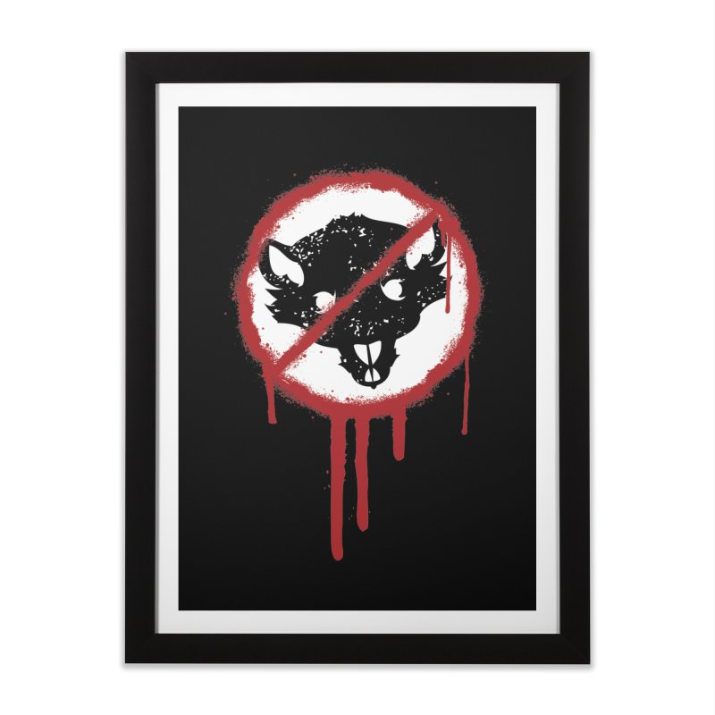 Court of Crown Graffiti Home Framed Fine Art Print by The Dungeon Rat's Shop