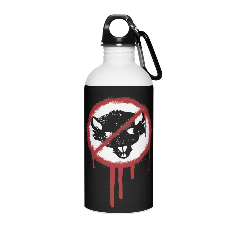 Court of Crown Graffiti Accessories Water Bottle by The Dungeon Rat's Shop