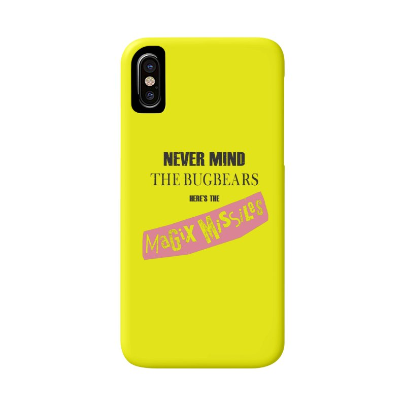 Magix Missiles Accessories Phone Case by The Dungeon Rat's Shop