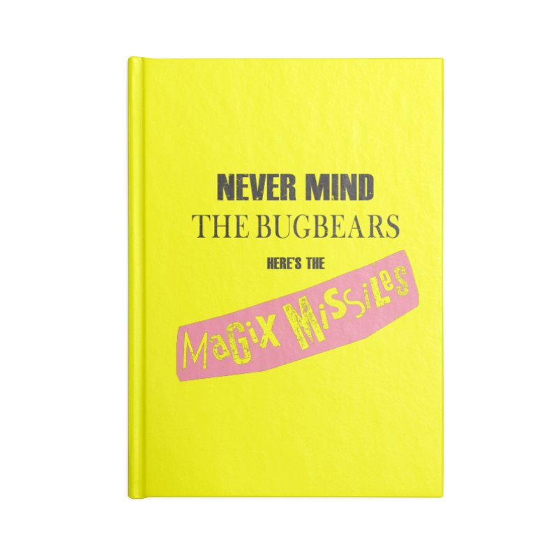 Magix Missiles Accessories Notebook by The Dungeon Rat's Shop