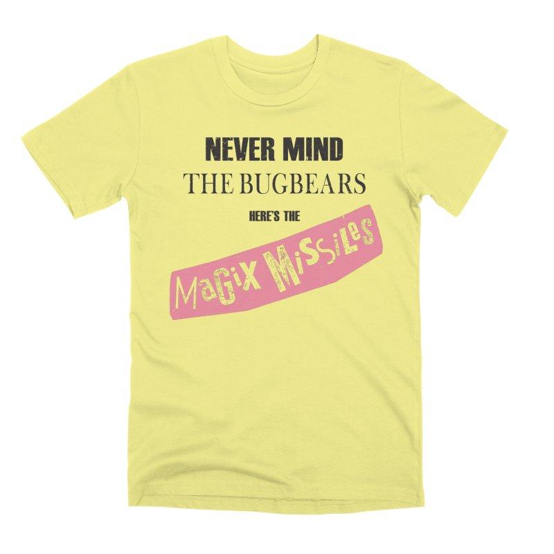 Magix Missiles Men's Premium T-Shirt by The Dungeon Rat's Shop