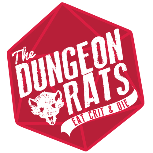 The Dungeon Rat's Shop Logo