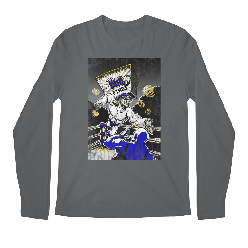 The Duo Finds Wrestler Men's Longsleeve T-Shirt by The Duo Find's Artist Shop