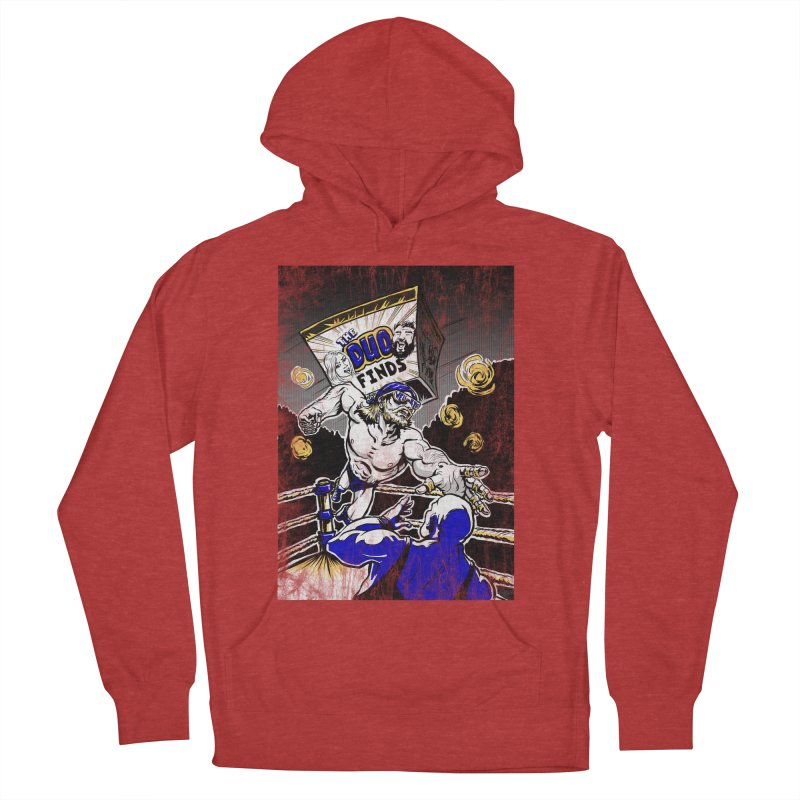 The Duo Finds Wrestler Women's French Terry Pullover Hoody by The Duo Find's Artist Shop