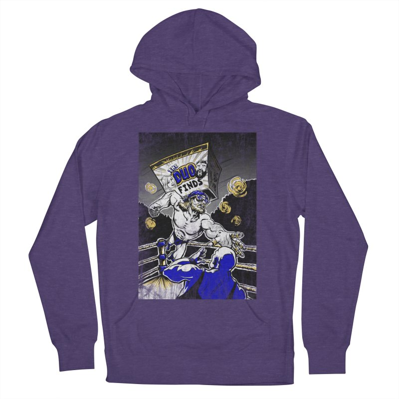 The Duo Finds Wrestler Men's French Terry Pullover Hoody by The Duo Find's Artist Shop