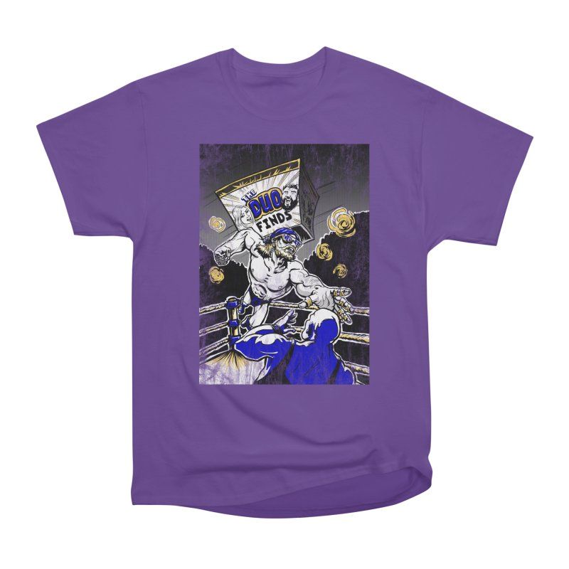 The Duo Finds Wrestler Men's Heavyweight T-Shirt by The Duo Find's Artist Shop