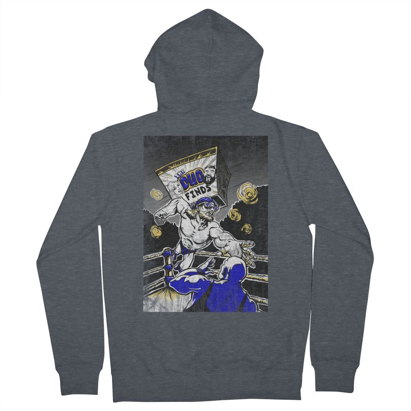 The Duo Finds Wrestler Women's French Terry Zip-Up Hoody by The Duo Find's Artist Shop
