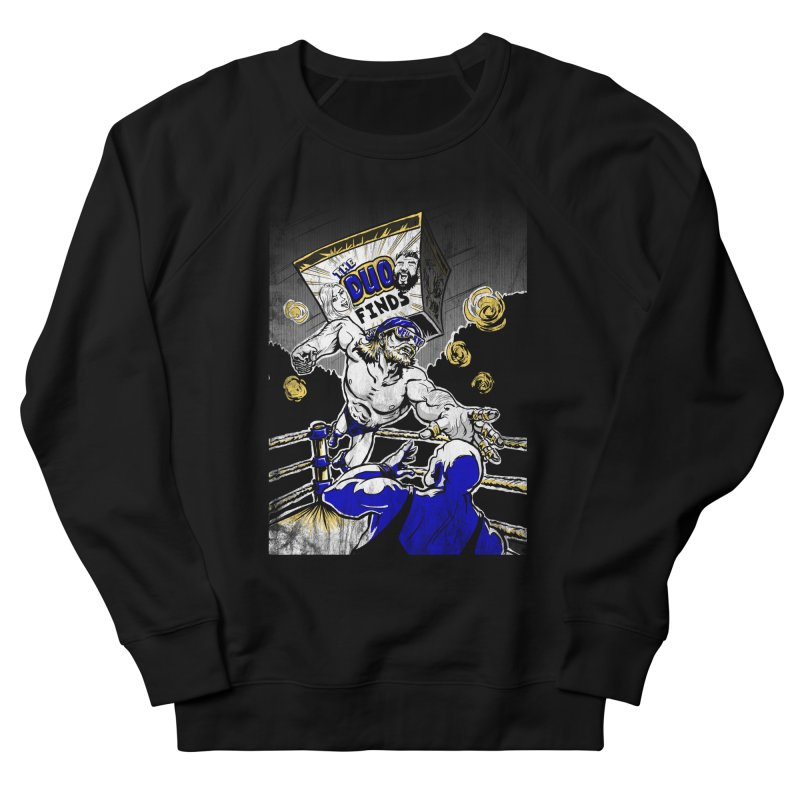 The Duo Finds Wrestler Women's French Terry Sweatshirt by The Duo Find's Artist Shop