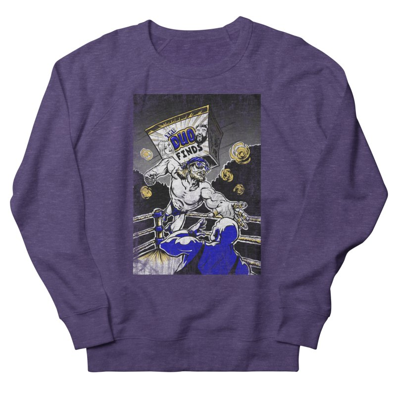 The Duo Finds Wrestler Men's French Terry Sweatshirt by The Duo Find's Artist Shop