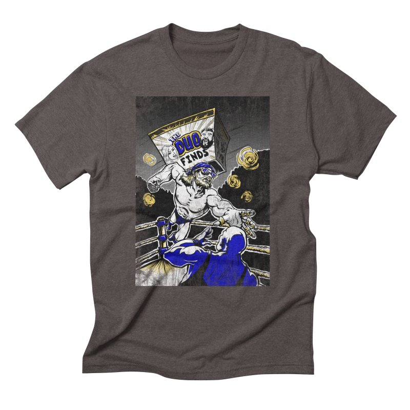 The Duo Finds Wrestler Men's Triblend T-Shirt by The Duo Find's Artist Shop