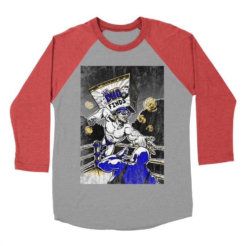 The Duo Finds Wrestler Women's Baseball Triblend Longsleeve T-Shirt by The Duo Find's Artist Shop