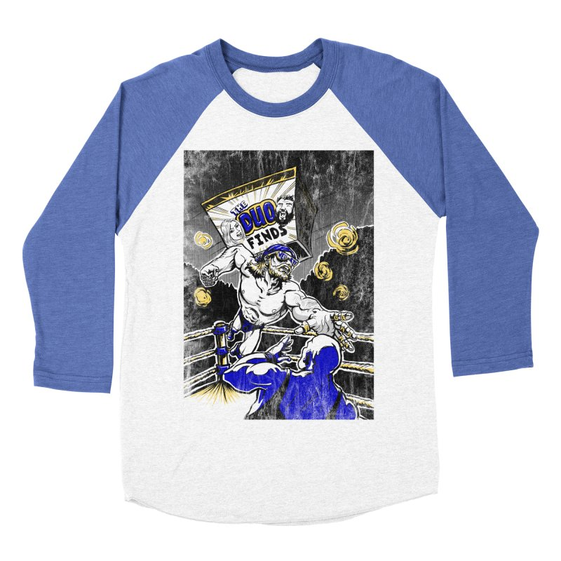 The Duo Finds Wrestler Men's Baseball Triblend Longsleeve T-Shirt by The Duo Find's Artist Shop
