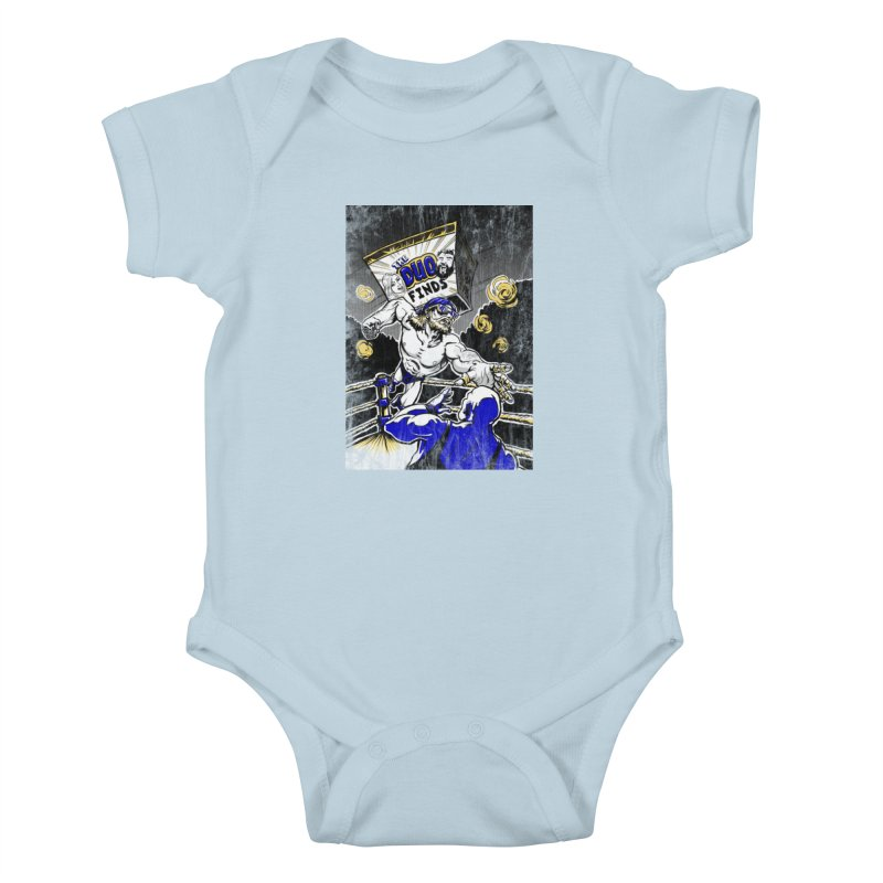 The Duo Finds Wrestler Kids Baby Bodysuit by The Duo Find's Artist Shop
