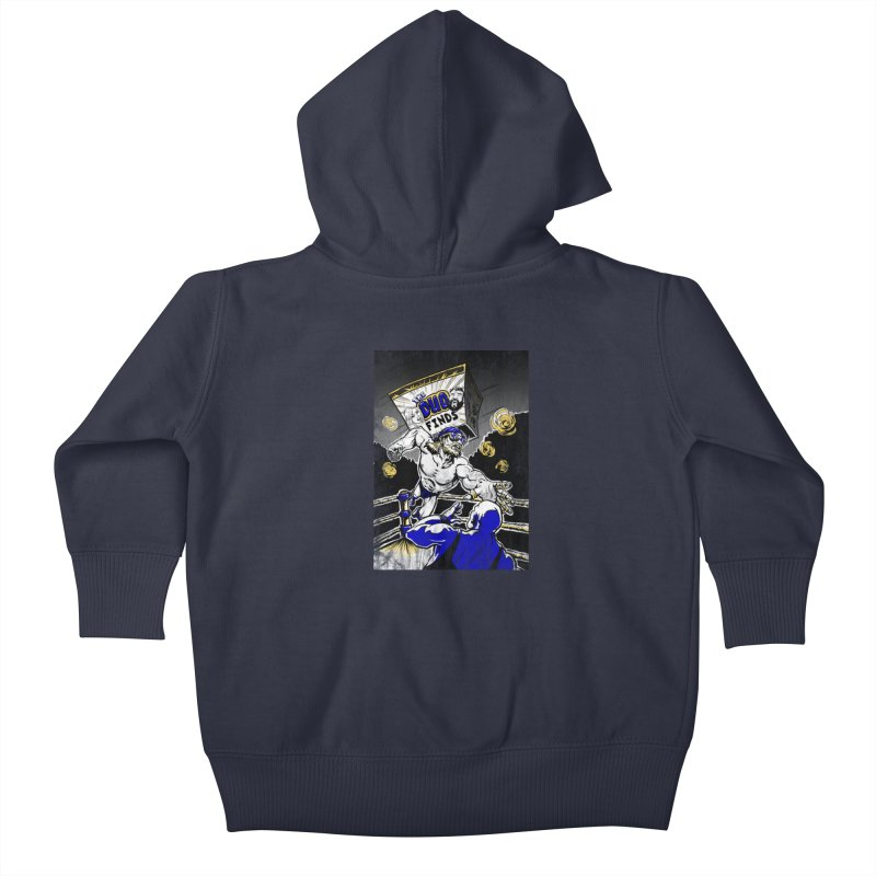 The Duo Finds Wrestler Kids Baby Zip-Up Hoody by The Duo Find's Artist Shop