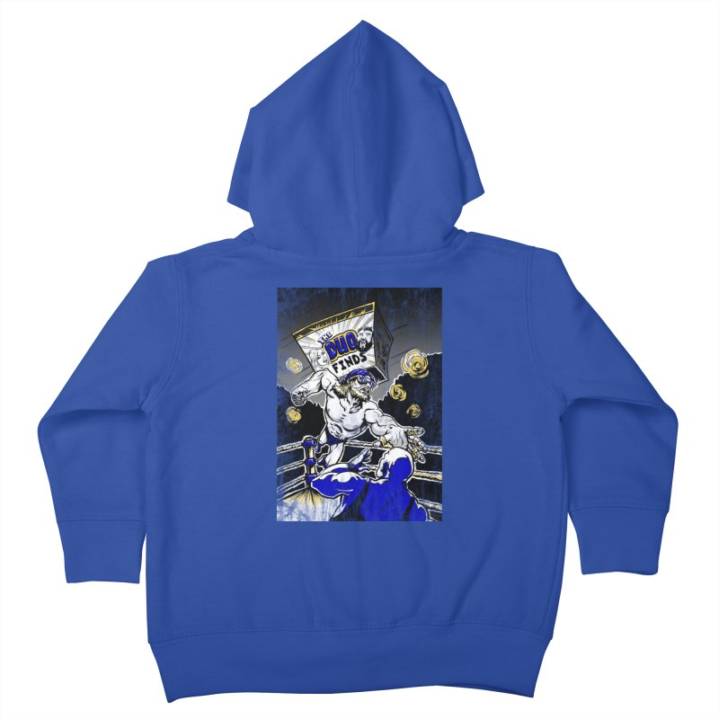 The Duo Finds Wrestler Kids Toddler Zip-Up Hoody by The Duo Find's Artist Shop