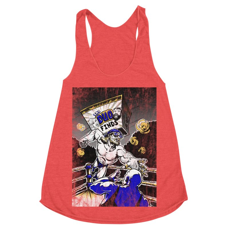 The Duo Finds Wrestler Women's Tank by The Duo Find's Artist Shop