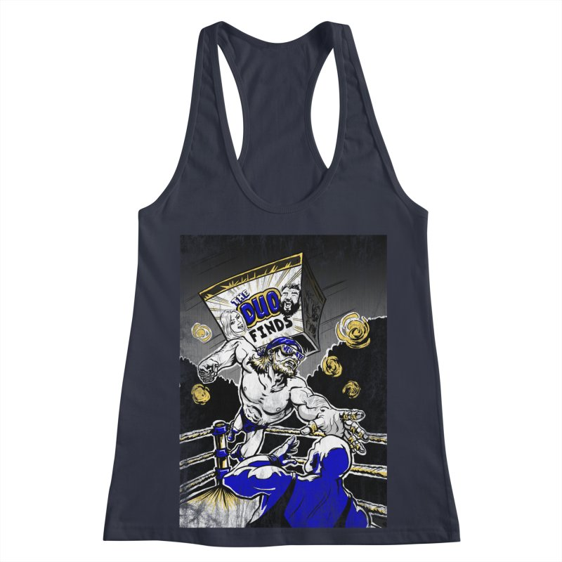 The Duo Finds Wrestler Women's Racerback Tank by The Duo Find's Artist Shop