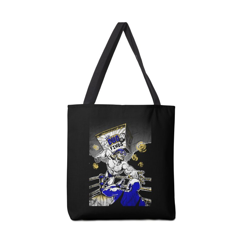 The Duo Finds Wrestler Accessories Tote Bag Bag by The Duo Find's Artist Shop