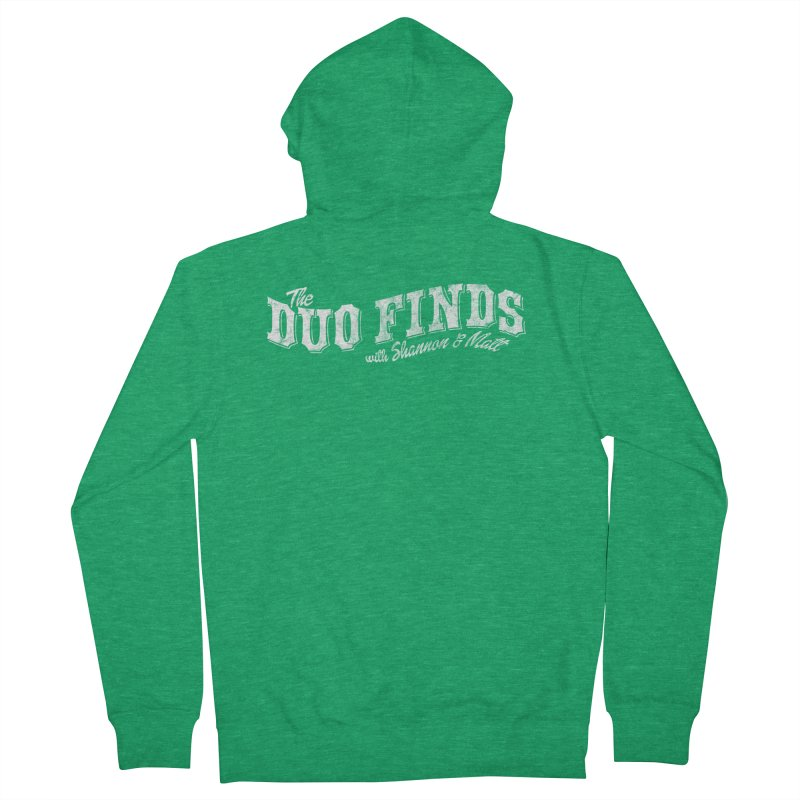 The Duo Finds Logo Aged Women's Zip-Up Hoody by The Duo Find's Artist Shop