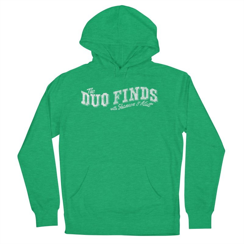 The Duo Finds Logo Aged Women's French Terry Pullover Hoody by The Duo Find's Artist Shop