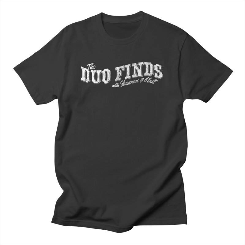 The Duo Finds Logo Aged Women's Regular Unisex T-Shirt by The Duo Find's Artist Shop