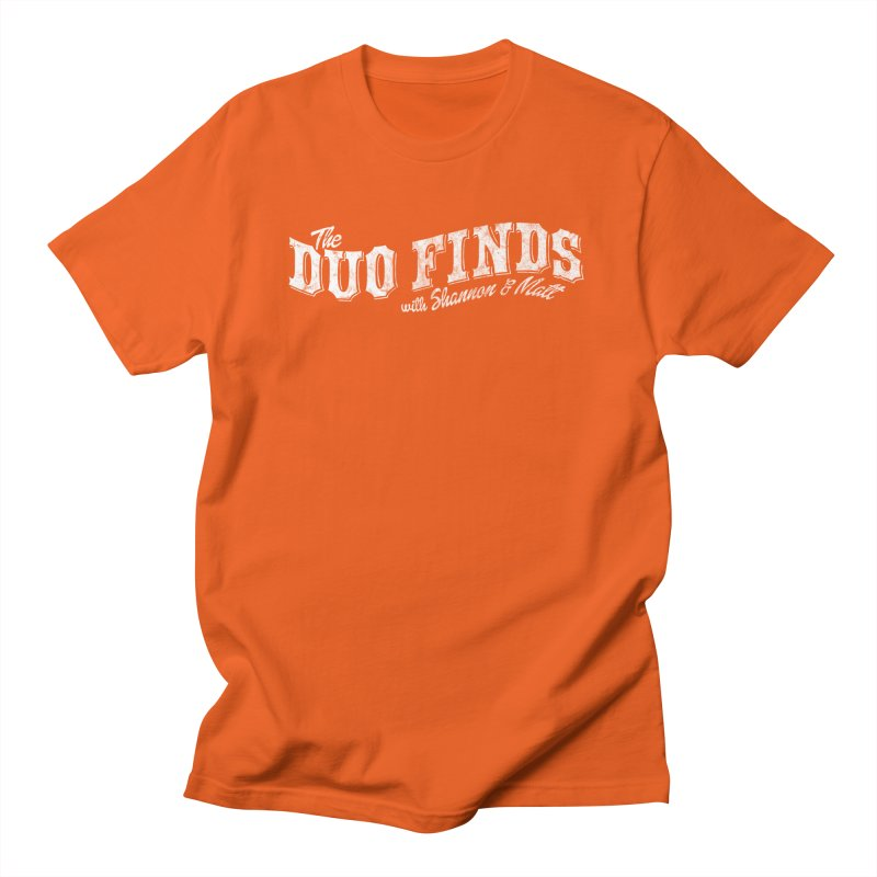 The Duo Finds Logo Aged Men's T-Shirt by The Duo Find's Artist Shop