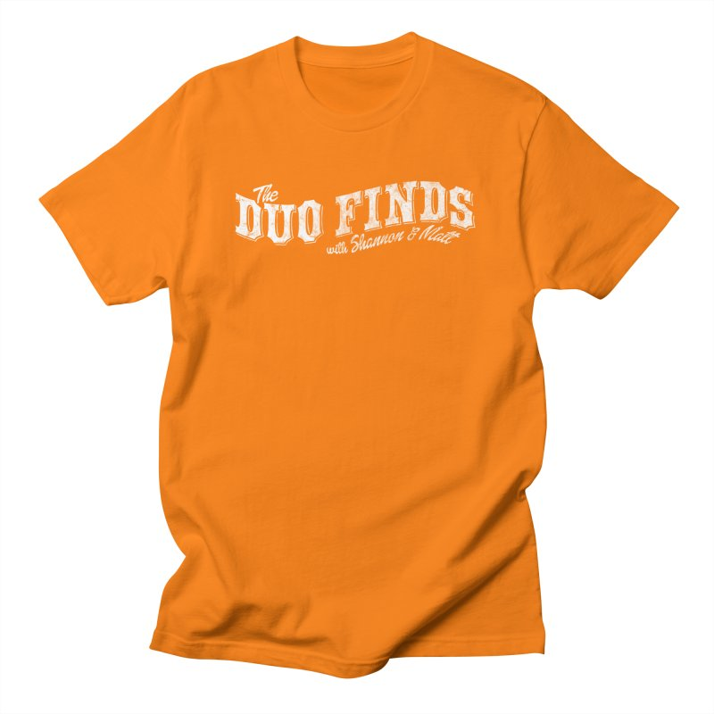 The Duo Finds Logo Aged Men's Regular T-Shirt by The Duo Find's Artist Shop