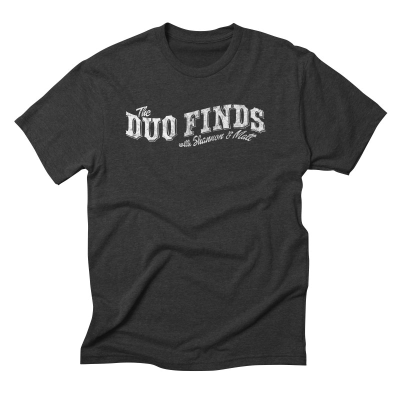 The Duo Finds Logo Aged Men's Triblend T-Shirt by The Duo Find's Artist Shop