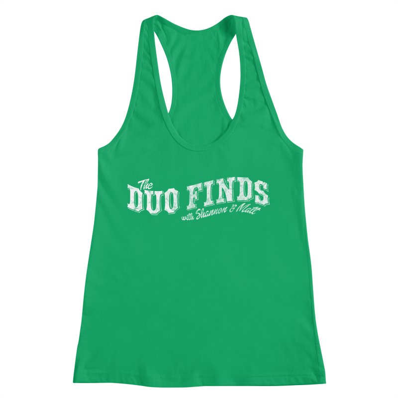 The Duo Finds Logo Aged Women's Tank by The Duo Find's Artist Shop