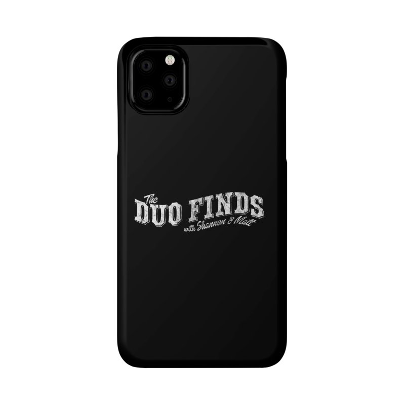 The Duo Finds Logo Aged Accessories Phone Case by The Duo Find's Artist Shop