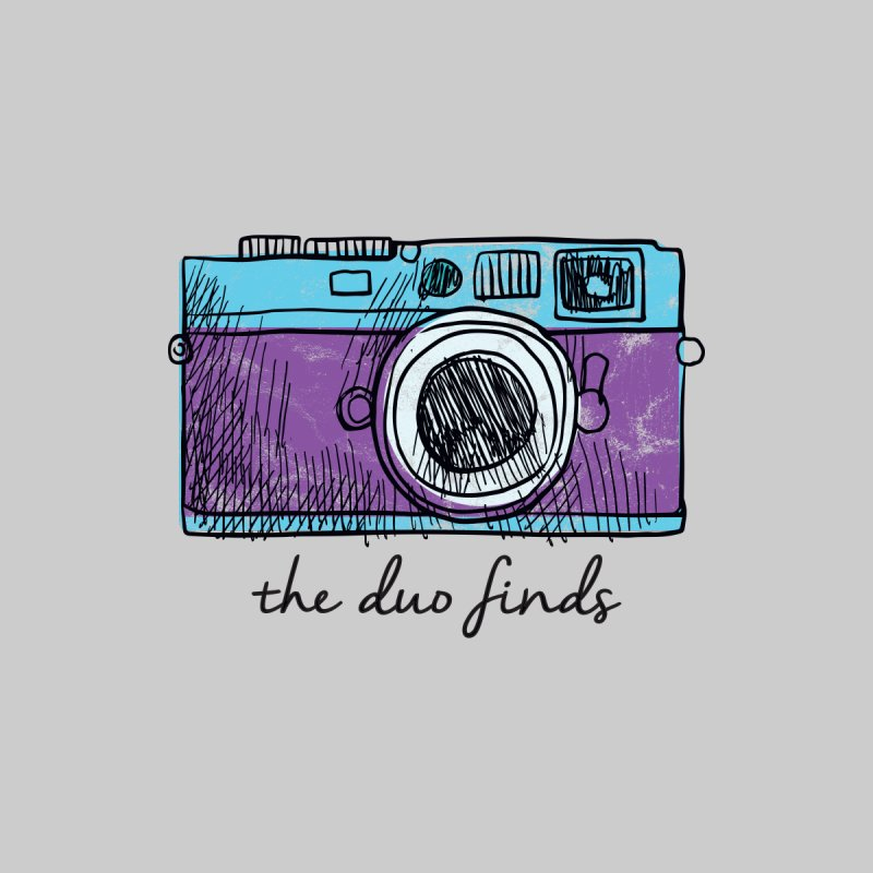"The Duo Finds ""Camera"" Logo Men's T-Shirt by The Duo Find's Artist Shop"