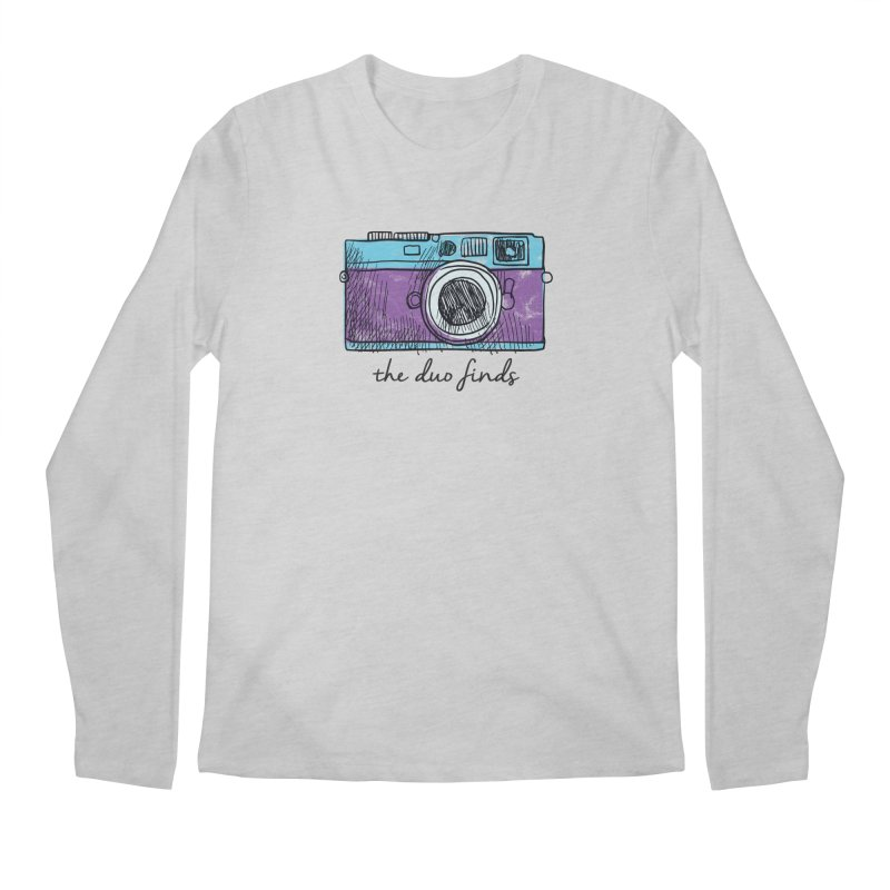 """The Duo Finds """"Camera"""" Logo Men's Longsleeve T-Shirt by The Duo Find's Artist Shop"""