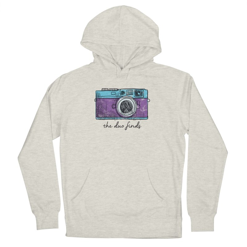 "The Duo Finds ""Camera"" Logo Women's French Terry Pullover Hoody by The Duo Find's Artist Shop"