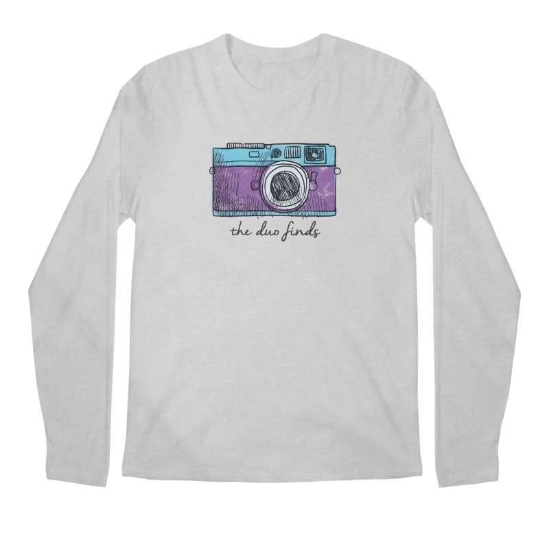 "The Duo Finds ""Camera"" Logo Men's Regular Longsleeve T-Shirt by The Duo Find's Artist Shop"