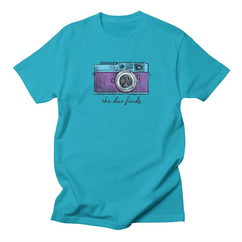 "The Duo Finds ""Camera"" Logo Men's Regular T-Shirt by The Duo Find's Artist Shop"