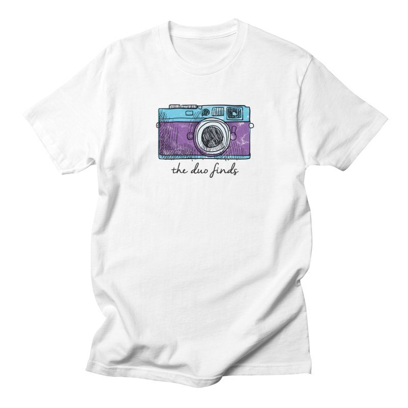 """The Duo Finds """"Camera"""" Logo Women's Regular Unisex T-Shirt by The Duo Find's Artist Shop"""