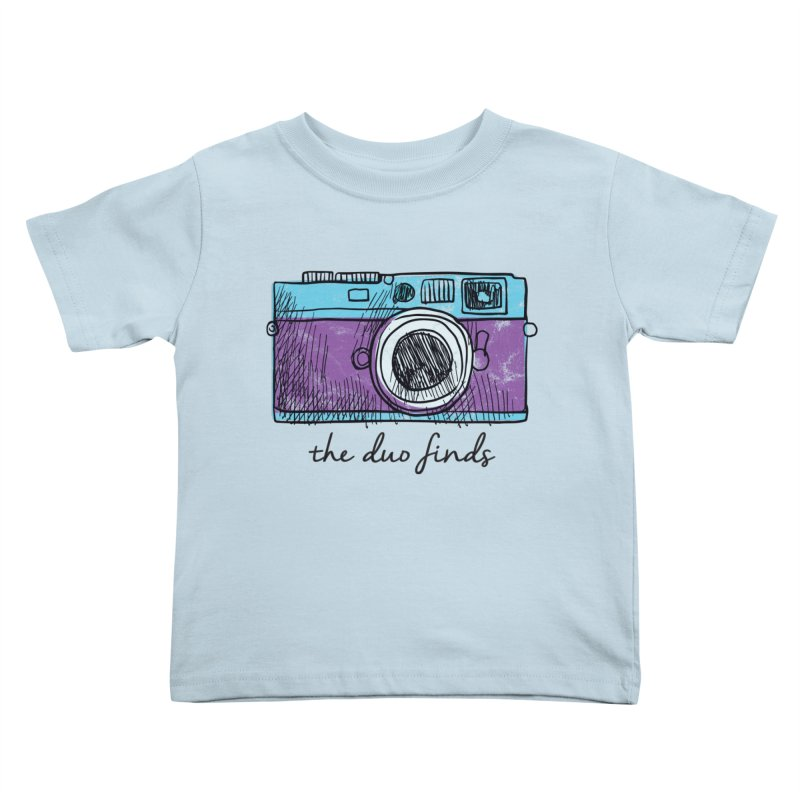 "The Duo Finds ""Camera"" Logo Kids Toddler T-Shirt by The Duo Find's Artist Shop"