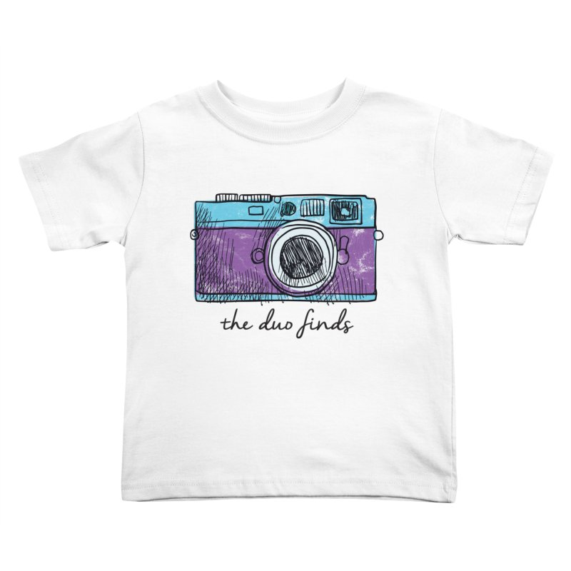 """The Duo Finds """"Camera"""" Logo Kids Toddler T-Shirt by The Duo Find's Artist Shop"""