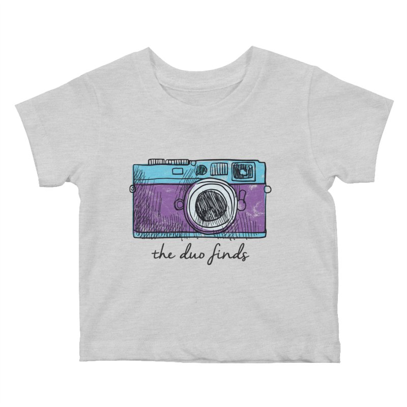 "The Duo Finds ""Camera"" Logo Kids Baby T-Shirt by The Duo Find's Artist Shop"